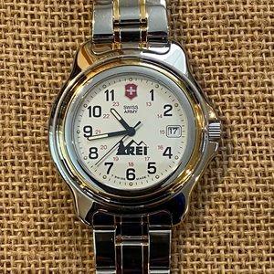 Swiss Army Watch 2 tone stainless steel